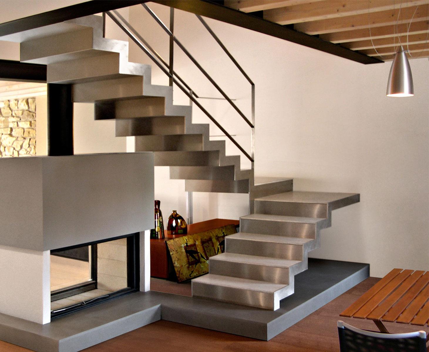Scale in acciaio novastil - Scale di casa ...