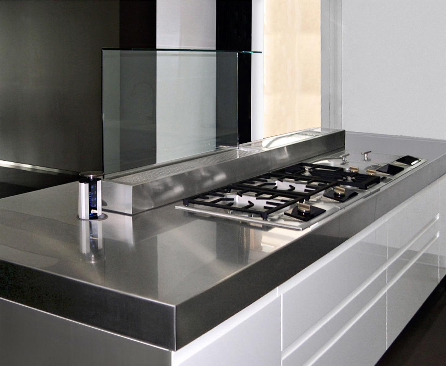 Home design novastil - Top cucina acciaio inox prezzo ...
